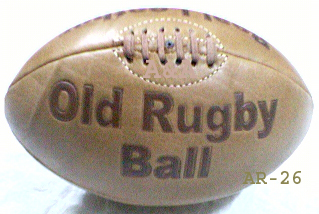 Antique Leather rugby balls